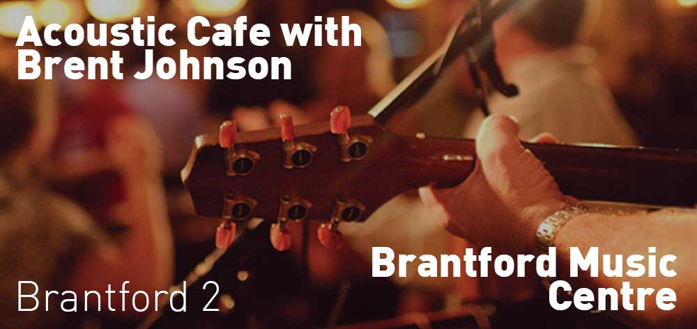 Brent Johnson | Brantford Music Centre | Saturday, June 23, 2018 | 2pm