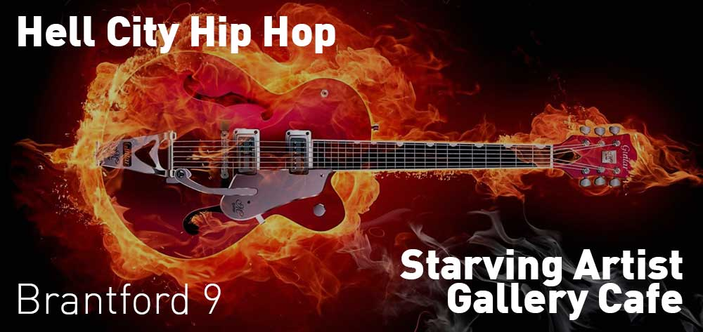 Hell City Hip Hop | Starving Artist Gallery Cafe | Saturday, June 23, 2018 | 9pm
