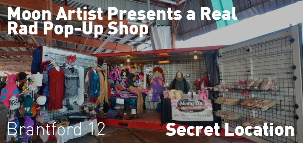 Moon Artist Presents a Real Rad Pop-Up Shop | Secret Location | Saturday, June 23, 2018 | 12pm
