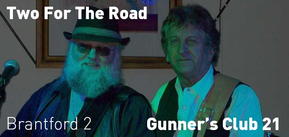 Two For The Road | Gunner's Club Unit 21 | Saturday, June 23, 2018 | 2pm