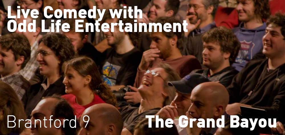 Live Comedy with Odd Life Entertainment, The Grand Bayou, Friday September 1 & 22, 9:00pm - Saturday 12:00am