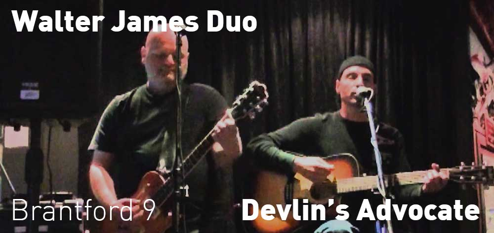 Walter James Duo, Devlin's Advocate, Friday September 22, 9:00pm