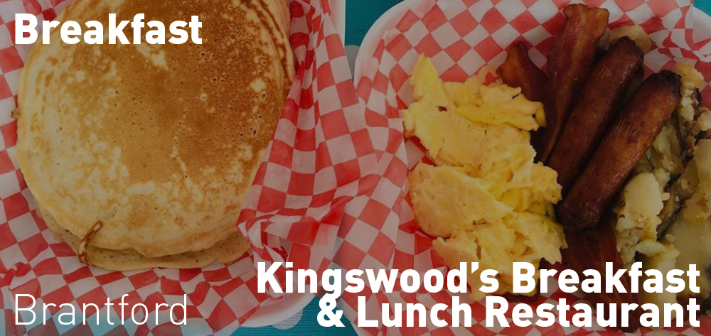 Kingswood's Breakfast + Lunch Restaurant is open every morning at 7am for take out or delivery.