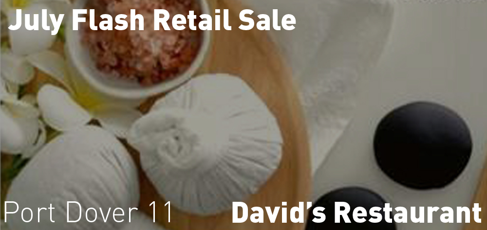 David's has a July Flash Sale on their retail!