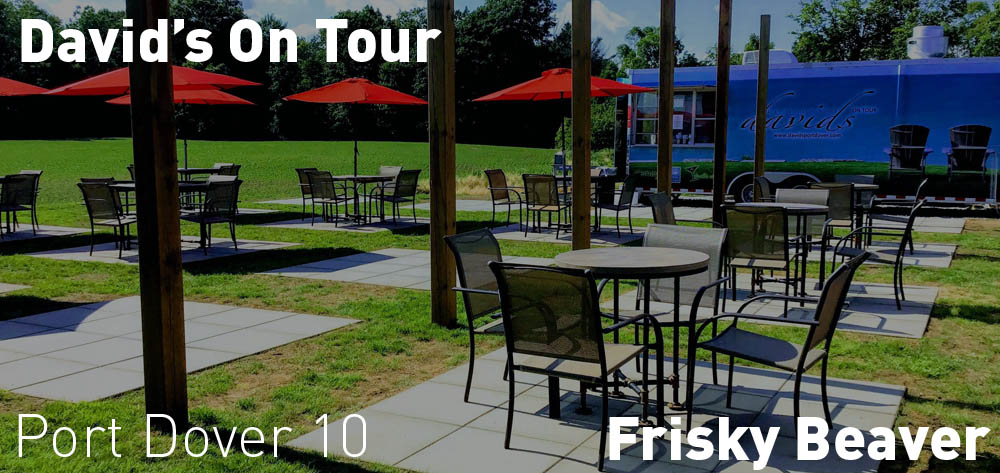 David's On Tour is now at Frisky Beaver Winery!