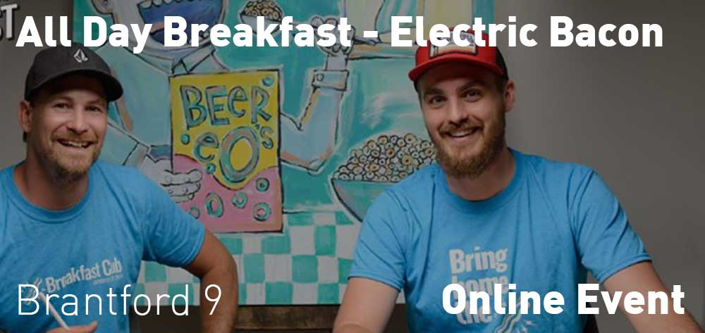 Electric Bacon | Live Video by All Day Breakfast: The Creative Agency | Every Monday at 9am