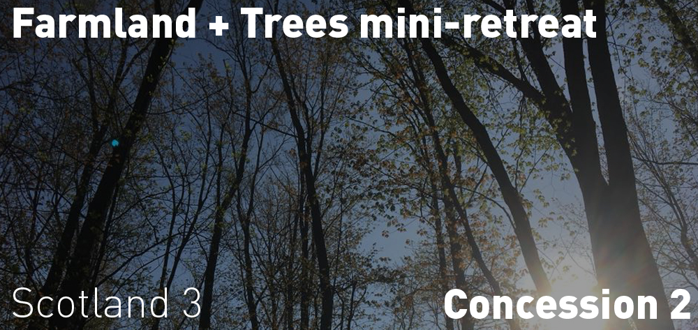 Farmland and Trees Mini Retreat (yoga too) is on Saturday June 23rd at 3 PM!