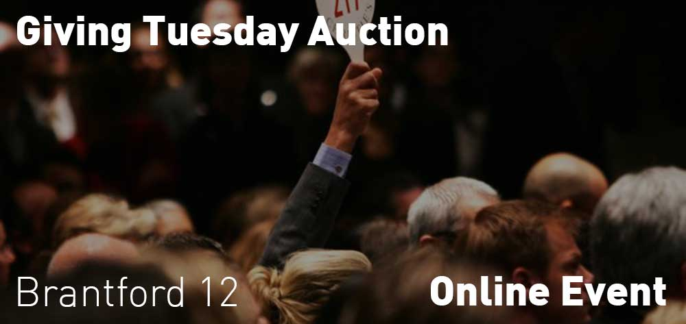 Giving Tuesday Auction | Online Event | Tuesday, December 1, 2020 @12pm until December 2, 2020 @12pm