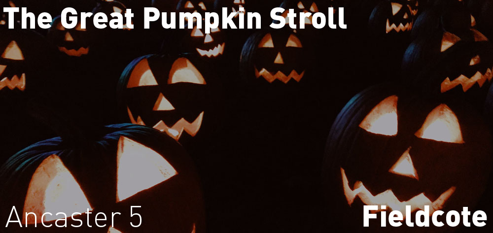 The Great Pumpkin Stroll is on Thursday October 24th at Fieldcote Memorial Park at 5 PM!