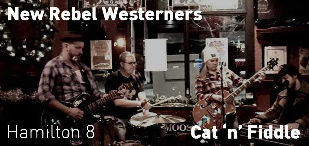 New Rebel Westerners Mondays at Cat 'n' Fiddle | 8pm