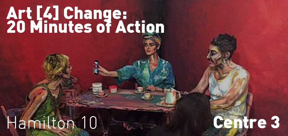 Art [4] Change: 20 Minutes of Action | October 28 - December 2, 2017 | Opening Reception: Friday, November 24 @ 7pm - 9pm