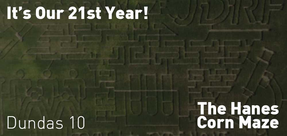 It's our 21st Year with The Hanes Corn Maze | Opened till End of October