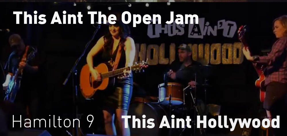 This Ain't The Open Jam at This Ain't Hollywood Every Tuesday