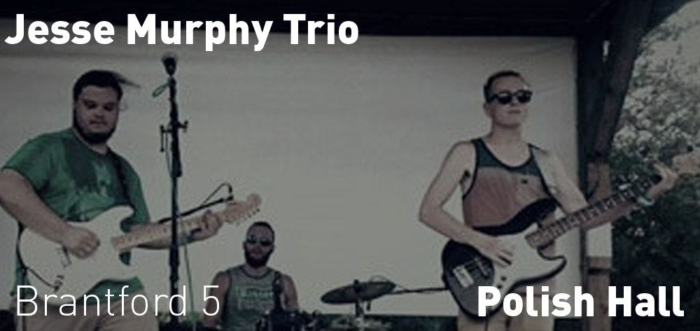 The Jesse Murphy Trio is playing at the Polish Hall on Friday April 26th at 7 PM.