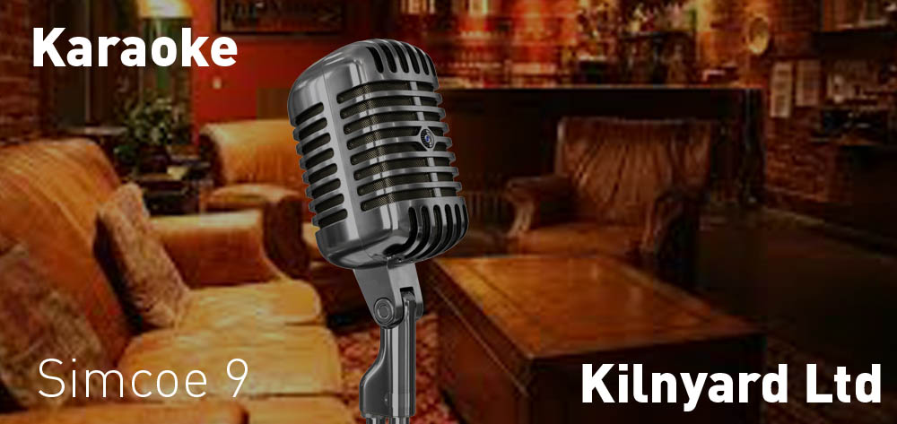 The Kilnyard has Karaoke every Thursday from 9 PM on!