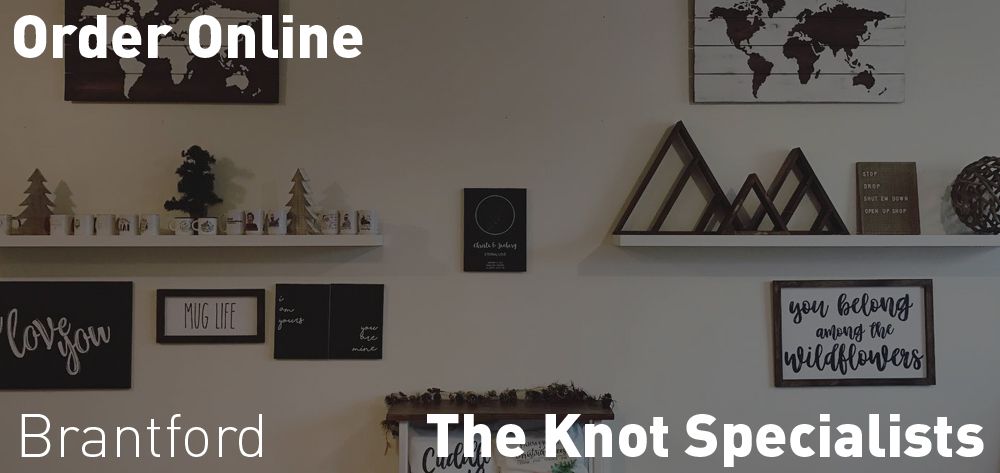 Order Online from The Knot Specialists website!