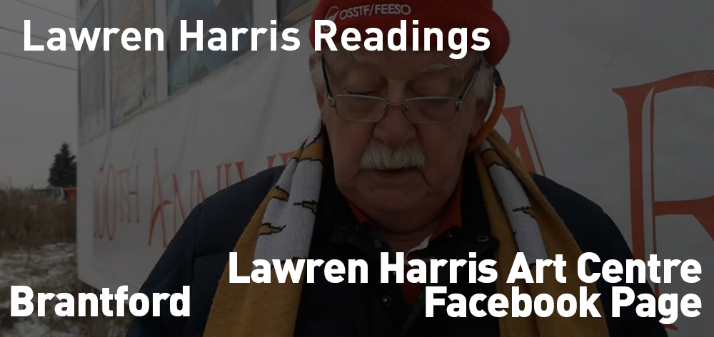Enjoy Lawren Harris' words being read on the Lawren Harris Art Gallery Facebook Page!