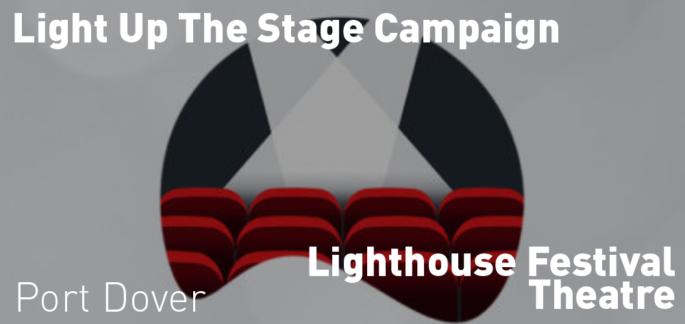 Check out the Light Up The Stage Campaign on now at the Lighthouse Festival Theatre!