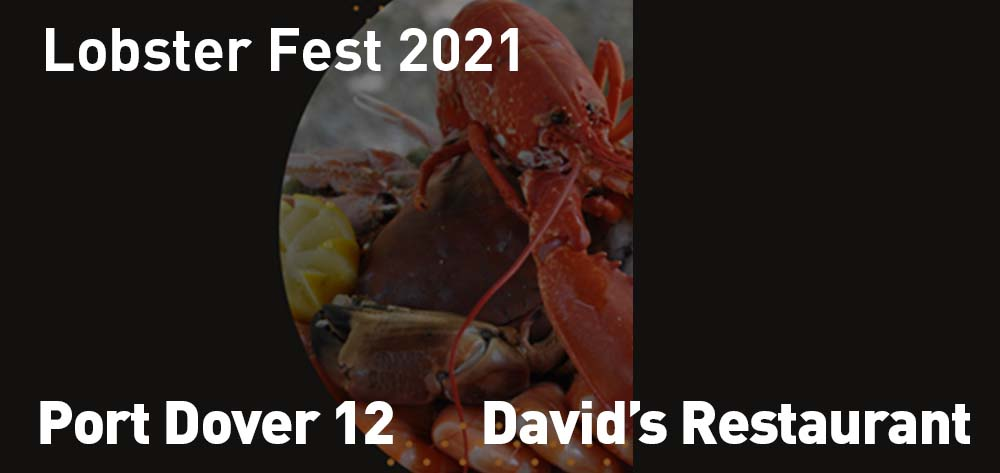 Lobster Fest 2021 is back at David's Restaurant for the month of March!