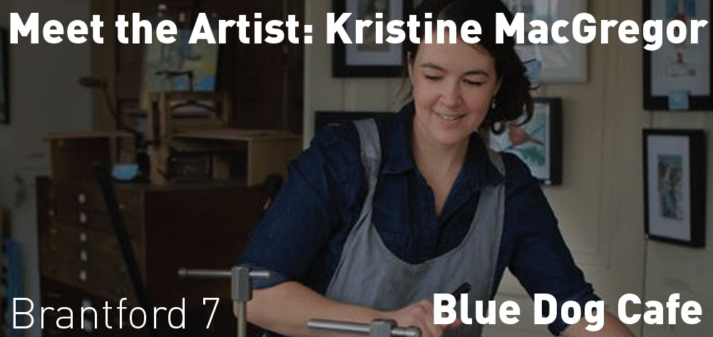 Meet the Artist - Blue Dog Cafe in Brantford on Friday December 13 at 7 PM!