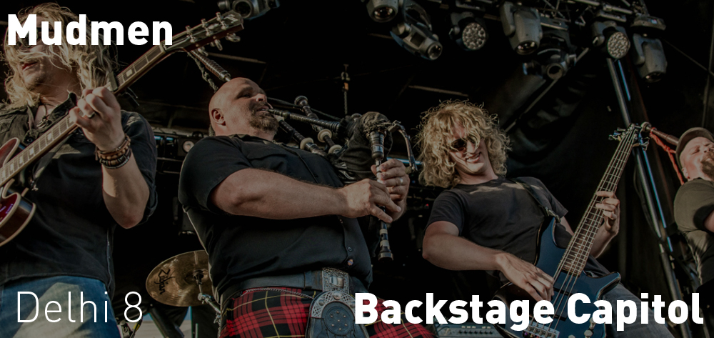 The Mudmen are taking the stage at the Backstage Capitol on Saturday April 27th at 8 PM!