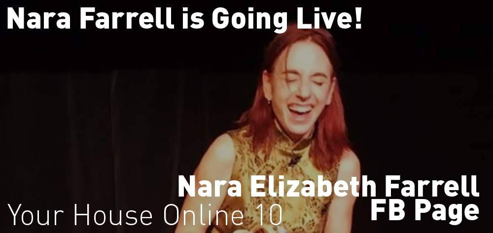 Nara Farrell is going live on Tuesdays at 10am!
