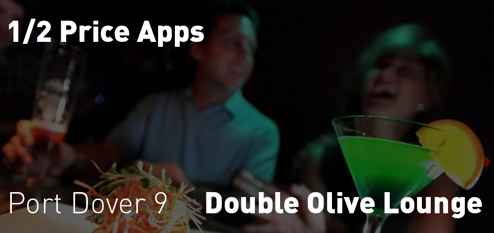 Double Olive 1/2 Price Apps