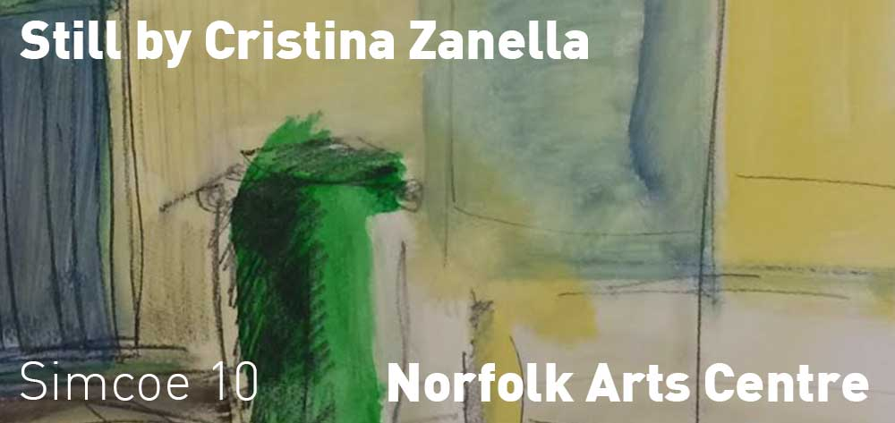 Cristina Zanella's exhibition 'Still' is opening at the Norfolk Arts Centre on Friday May 11th at 7 PM!