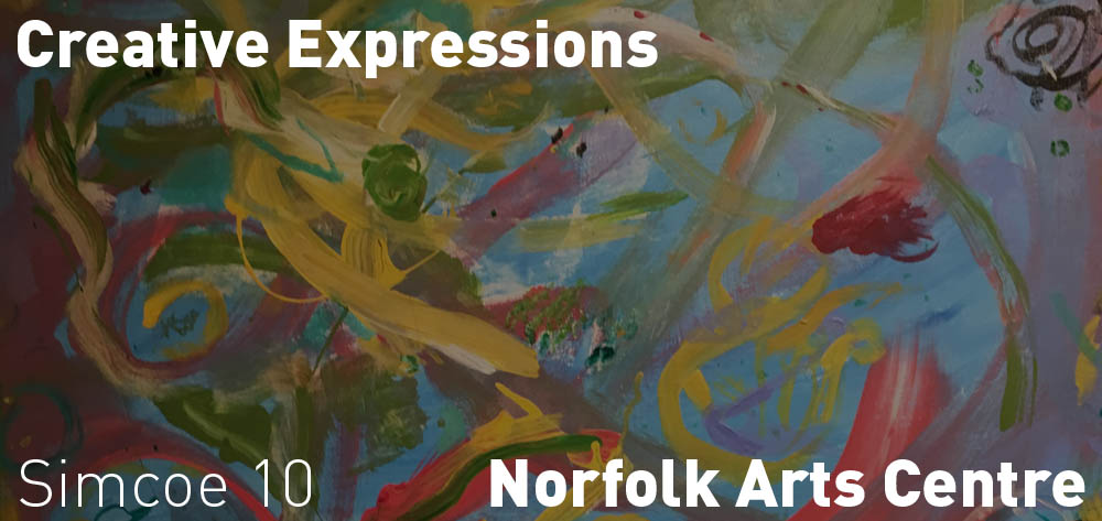 Creative Expressions | Norfolk Arts Centre | January 19 - February 24, 2018 | Opening Reception: Saturday, February 3 at 1pm