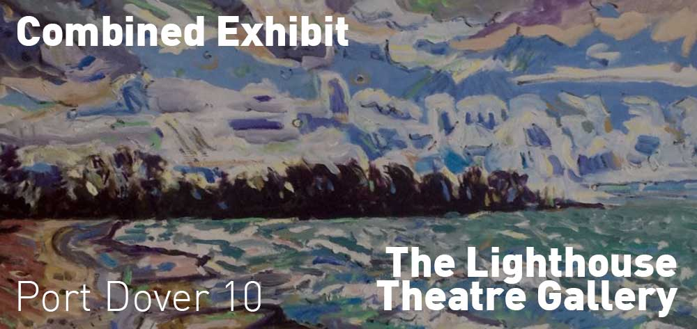Combined Exhibit | Lighthouse Theatre Gallery | January 22 - March 17, 2018 | Opening Reception February 4th at 2pm