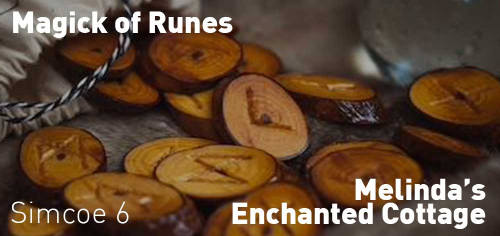 Magick of Runes | Melinda's Enchanted Cottage | Thursday, June 21, 2018 | 6pm
