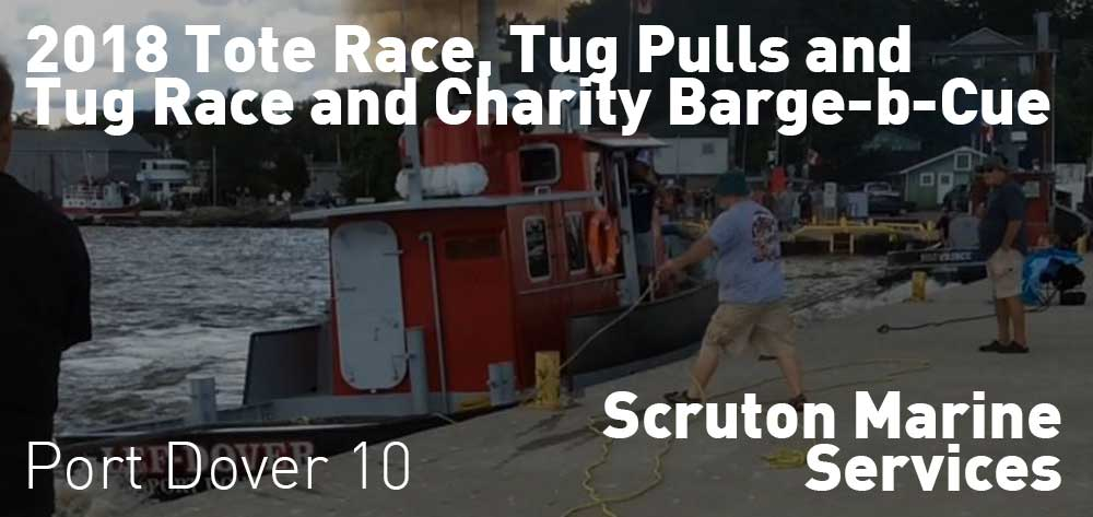2018 Tote Race, Tug Pulls and Tug Race and Charity Barge-b-Cue | 49 John Street | Saturday, June 23, 2018 | 10am
