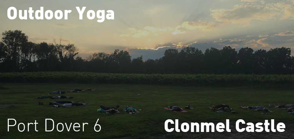Outdoor Yoga at Clonmel Castle | Thursdays and Saturdays at 6pm and 8:30am respectively