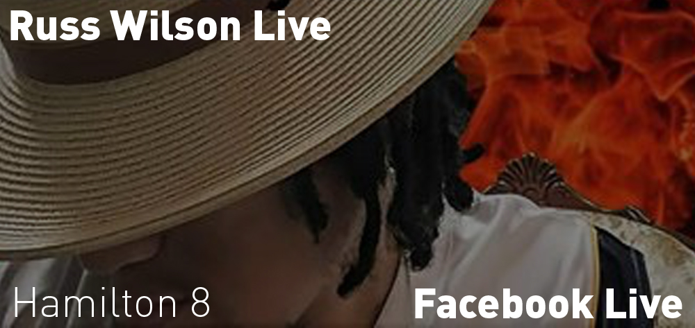 Russ Wilson is going live on Friday May 29th at 8 PM on Facebook!