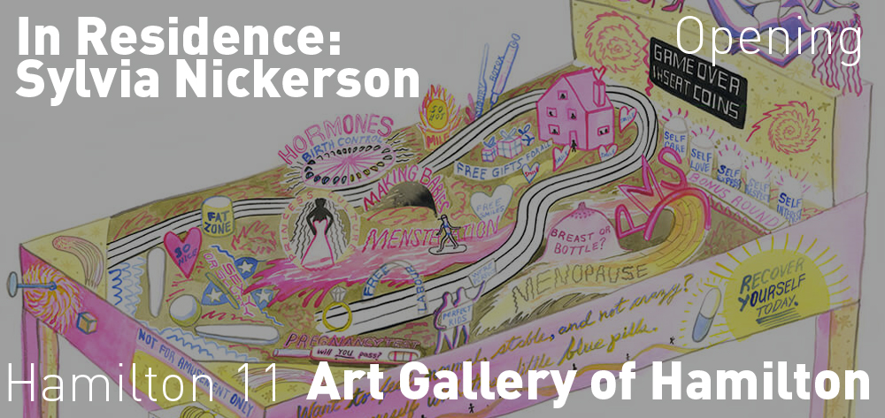 In Residence: Sylvia Nickerson's exhibition is open on Saturday August 22 at 11am until March 2021!