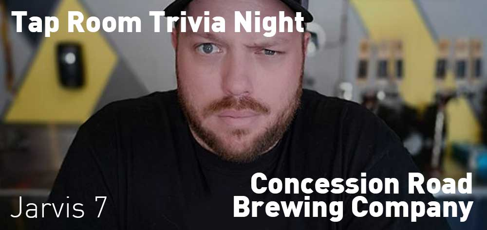 Weekly Taproom Trivia Night | Concession Road Brewing Co. | 7pm