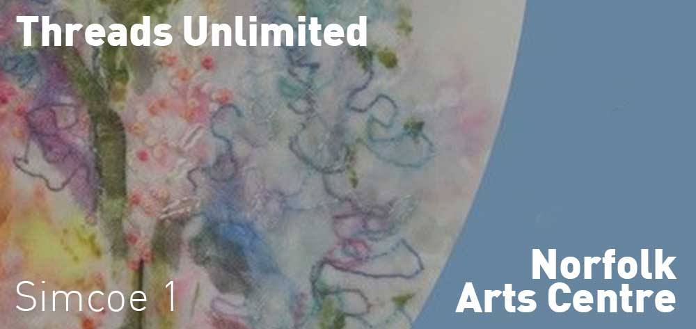 Threads Unlimited | Norfolk Arts Centre | August 10 - October 26, 2018 | Opening Reception: Friday, August 10, 2018 @ 7pm