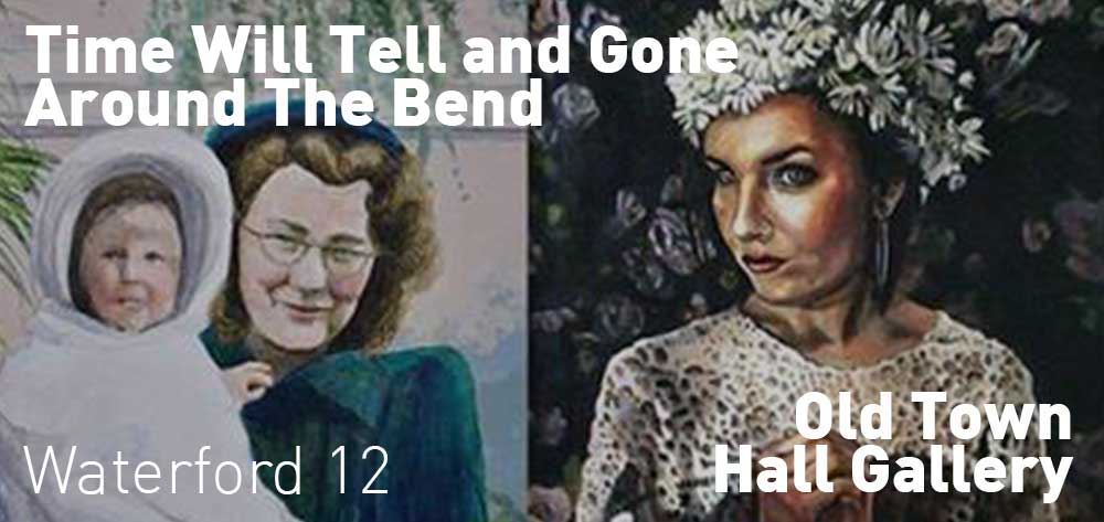 Time Will Tell and Gone Around The Bend figurative art exhibition at the Old Town Hall Gallery | May 23 - July 12, 2018 | Opening Reception: June 3rd, 2018 @ 2pm - 4pm