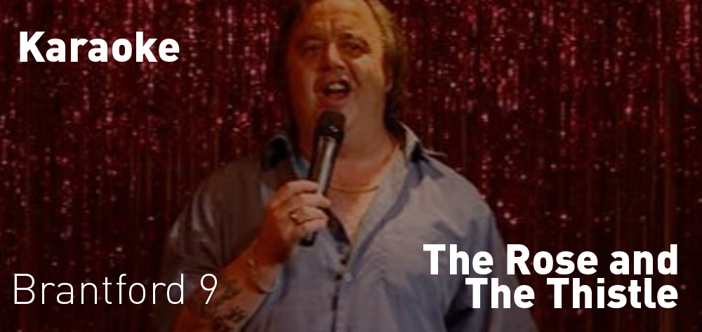 The Rose and The Thistle has Karaoke 3 Nights a Week!
