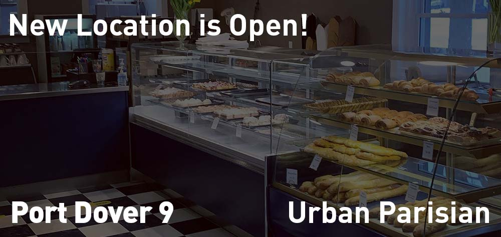 Urban Parisian is now open at it's new location!