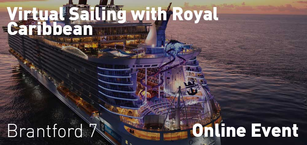 Virtual Sailing with Royal Caribbean | Online Event | Wednesday, July 22, 2020 | 7pm