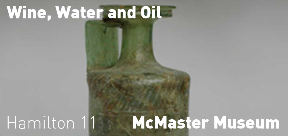 Wine, Water, and Oil: